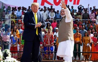 'May never be excited again about a crowd': US President Trump on India visit