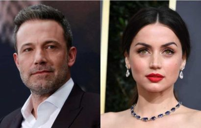 Ben Affleck spotted getting cosy with Ana de Armas at the beach. See pics