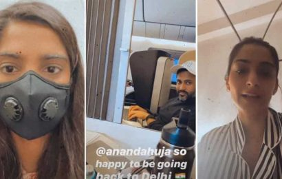 Sonam Kapoor compares UK and India's response to coronavirus as she flies back home, says 'our govt is doing its best'