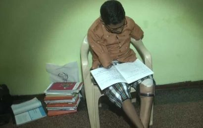 Vadodara boy who lost hands, legs in accident to write class 12 board exam using elbow