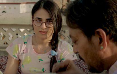 Radhika Madan: Irrfan Khan never showed what he was going through on Angrezi Medium sets