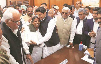 Haryana: BJP's Jangra, Gautam and Cong's Deepender Hooda elected unapposed
