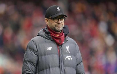 Klopp unsure games behind closed doors are the best option