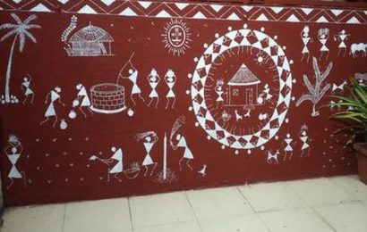 Warli art and the stick figure stories from Hyderabad