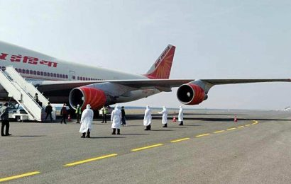 Air India flight to evacuate 327 stranded Indians from Rome takes off