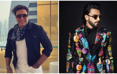 Govinda showers praise on Ranveer Singh, calls him 'superstar'