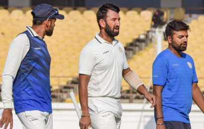 After fever, Cheteshwar Pujara down with back problem