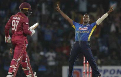Angelo Mathews stars as Sri Lanka whitewash West Indies 3-0