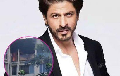 Fire opposite Shah Rukh Khan's Bandra home, 1 killed   Bollywood Life