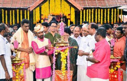 Pongala celebrated at Bhagavathy temple