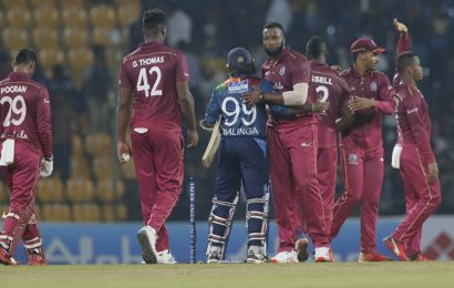 Andre Russell powers West Indies to T20I series sweep over Sri Lanka