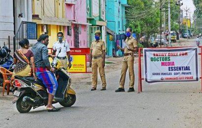 Coronavirus   Police cordon off Melapalayam after 16 residents test positive