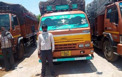Coronavirus | Coimbatore Police intercept container trucks packed with migrants