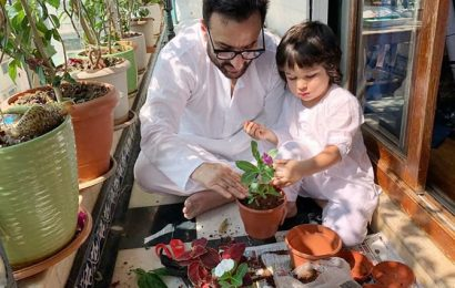 'We are having a blast with Taimur'