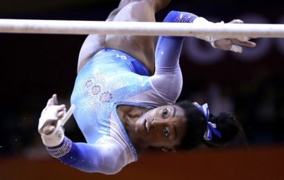 American gymnast Biles cried at news of Tokyo postponement
