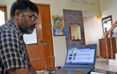 Virtual classes conducted for Class X in Puducherry