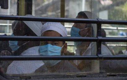 Coronavirus | Gulabi Bagh residents protest shifting of Tablighi members to neighbouring school for quarantine