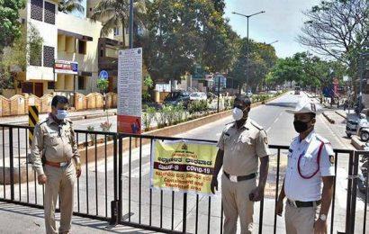 COVID-19 | Police tighten vigil in Dharwad district