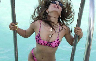 Pic Talk: Sharma's Bikini Throwback Is Awesome