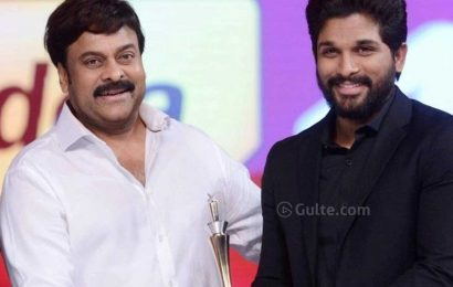 Chiru Says All Is Well Between Him And The Allu's