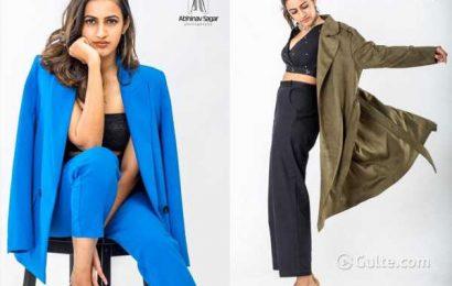 Niharika's effortless glamour look