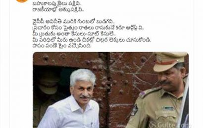 AP BJP ripped off Vijay Sai Reddy