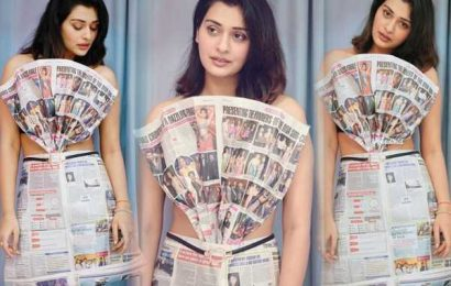 Pic Talk: Payal's Paper Outfit Is Crazy & Hot