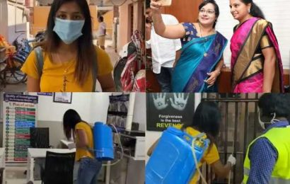 TRS Lady Politician's Daughter Does Fake Stunt For Tik Tok