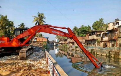 BMC racing against time to complete desilting