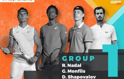 Rookie Nadal facing tough test at 'virtual' Madrid Open