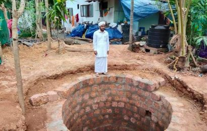 Madrasa teacher uses lockdown time to dig well