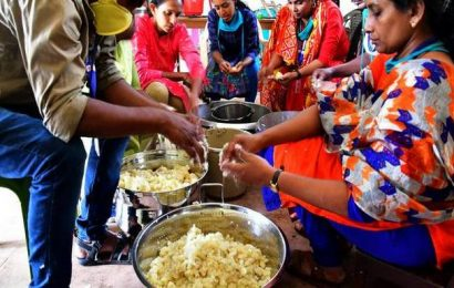 Community kitchens in full swing