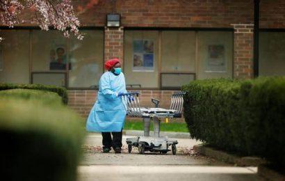 U.S. coronavirus death toll passes 14,600