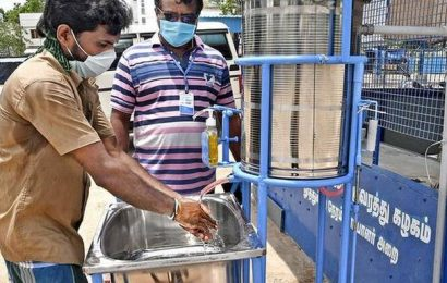 Pedal-operated system to wash hands introduced in Thoothukudi