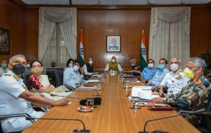 Rajnath Singh reviews implementation of reform measures in armed forces