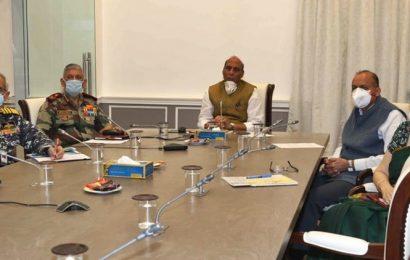 Do not allow adversaries to take advantage of India's focus on COVID-19: Rajnath Singh to military
