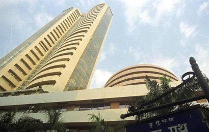 Sensex drops over 400 points; Nifty tumbles below 8,200