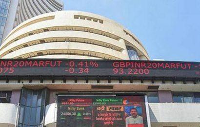 Sensex jumps over 483 pts; Nifty tops 9,300