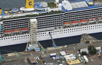 60 new coronavirus cases confirmed on cruise ship in Japan