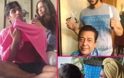 किसी ने काटे पापा के बाल तो किसी ने दिया भाई को नया लुक, देखें Ankita Lokhande से लेकर Shivin Narang समेत तमाम टीवी सेलेब्स की नई Photos