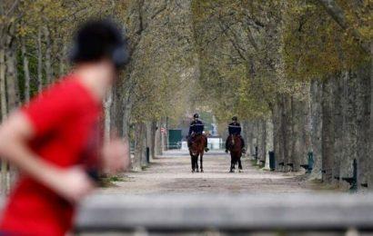 Paris installs a curfew on outdoor sports