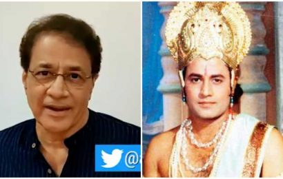 Arun Govil aka Lord Rama from Ramayan makes an appeal to his impersonator, video goes viral