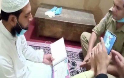 Cop ties knot via video call in Hapur amid lockdown