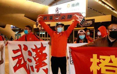 Wuhan football team make emotional return to virus ground zero