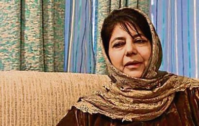 Mehbooba Mufti moved from jail to home, still in detention