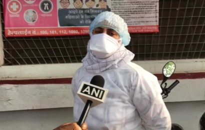 'Won't be scared': Doctor pelted with stones in Indore back to screen Covid-19 patients