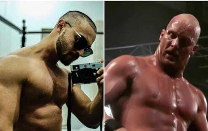 Aayush Sharma goes bald amid lockdown, Varun Dhawan thinks he resembles WWEwrestler Stone Cold
