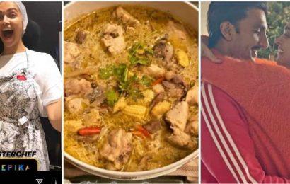 Deepika Padukone turns master chef, makes Thai green curry and rice for 'pati parmeshwar' Ranveer Singh. See pics