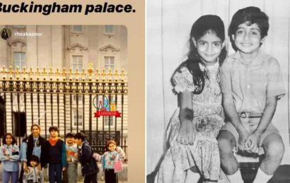 Arjun Kapoor, Sonam pose in an old pic shared on Sibling Day, Shweta Bachchan calls Abhishek 'partner in rhyme and crime'