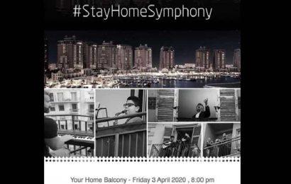 Qatar orchestra does balcony performances to spread cheer amid lockdown blues